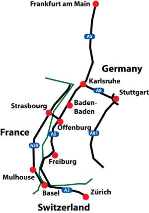 Th IEEE European Test Symposium - Basel mulhouse freiburg map